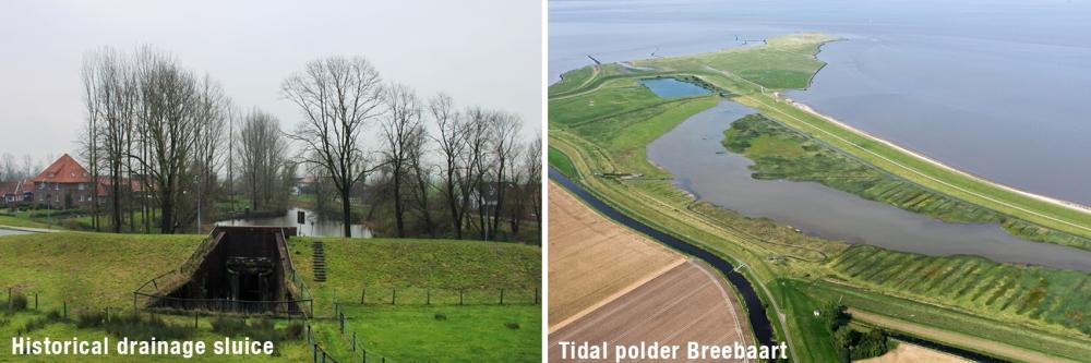 sluis+tidal polder