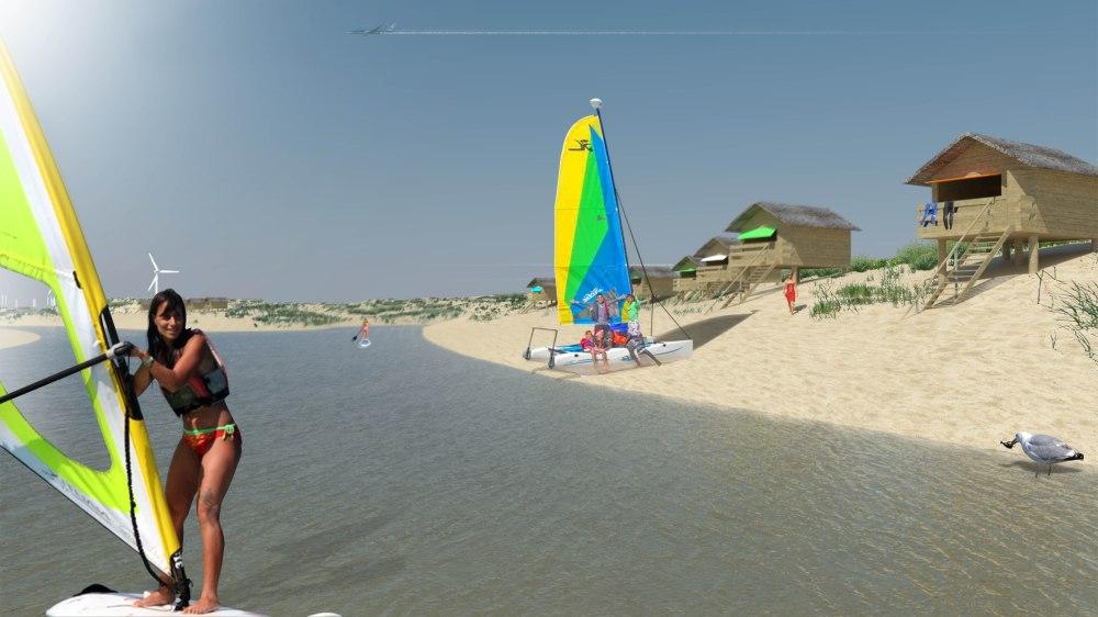 Surf village